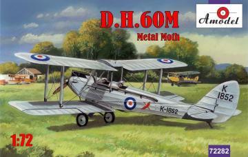 de Havilland DH.60M Metal Moth · AM 72282 ·  A-Model · 1:72