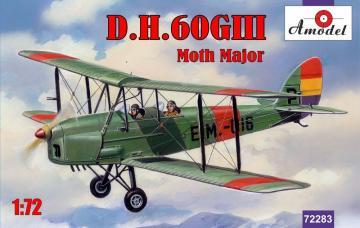 de Havilland DH.60GIII Moth Major · AM 72283 ·  A-Model · 1:72
