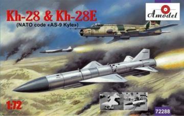 Kh-28 & Kh-28E rockets · AM 72288 ·  A-Model · 1:72