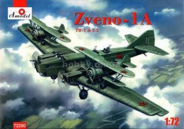 Zveno-1A TB-1 & I-5 · AM 72290 ·  A-Model · 1:72
