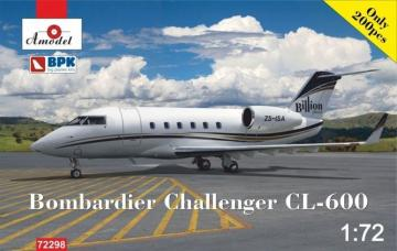 Bomardier Challenger CL-600 · AM 72298 ·  A-Model · 1:72