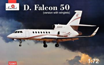 Dassault Falcon 50 (version with winglets) · AM 72307 ·  A-Model · 1:72