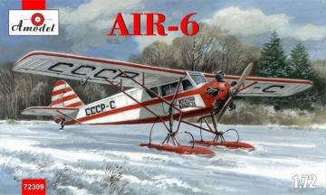 AIR-6 Soviet monoplane on skis · AM 72309 ·  A-Model · 1:72