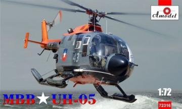 MBB UH-05 Chilean Air Force · AM 72316 ·  A-Model · 1:72
