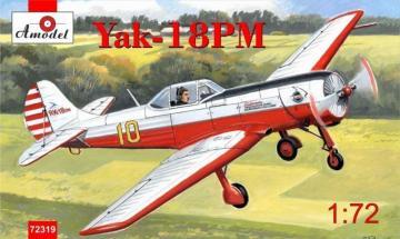 Yakovlev Yak-18PM aerobatic aircraft · AM 72319 ·  A-Model · 1:72