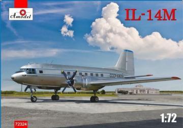 Ilyushin IL-14M transport aircraft · AM 72324 ·  A-Model · 1:72