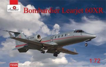 Bombardier Learjet 60xR · AM 72325 ·  A-Model · 1:72