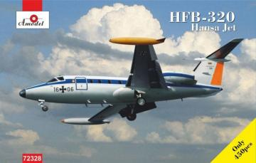 HFB-320 Hansa Jet, Lufthansa · AM 72328 ·  A-Model · 1:72