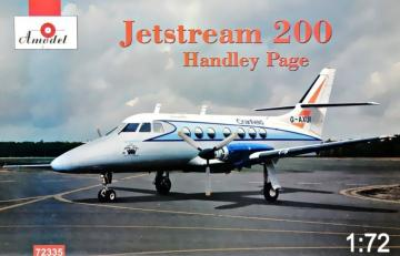 Jetstream 200 Handley Page · AM 72335 ·  A-Model · 1:72
