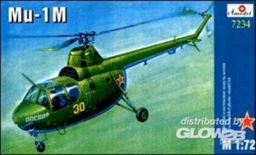 Mil Mi-1M Soviet helicopter · AM 7234 ·  A-Model · 1:72