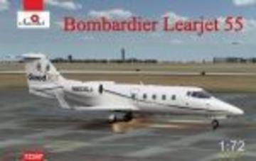 Bombardier Learjet 55 · AM 72347 ·  A-Model · 1:72