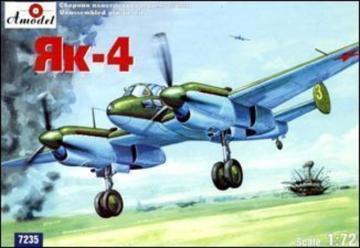 Yakovlev Yak-4 Soviet WWII bomber · AM 7235 ·  A-Model · 1:72