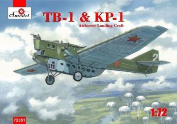 TB-1 & KP-1 Airborne landing craft · AM 72351 ·  A-Model · 1:72