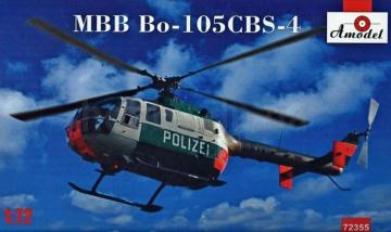 MBB Bo-105CBS-4 Helicopter · AM 72355 ·  A-Model · 1:72