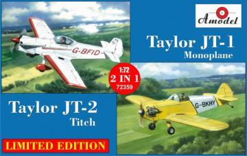 Taylor JT-2 Titch & Taylor JT-1 Monoplane · AM 72359 ·  A-Model · 1:72