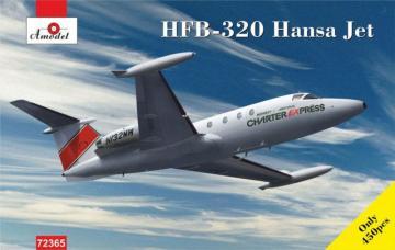 HFB-320 Hansa Jet, Charter Express · AM 72365 ·  A-Model · 1:72