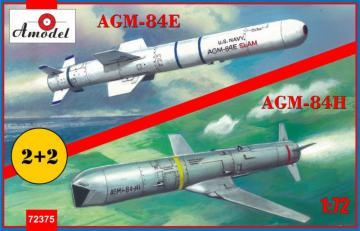 AGM-84E and AGM-84H on trolleys · AM 72375 ·  A-Model · 1:72
