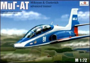 Mikoyan MIG-AT Russian modern trainer · AM 7239 ·  A-Model · 1:72