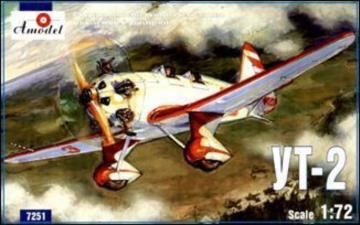 Ut-2 Soviet trainer airplane · AM 7251 ·  A-Model · 1:72