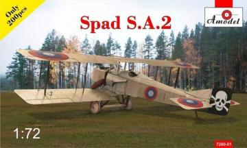 SPAD S.A.2 fighter · AM 726001 ·  A-Model · 1:72