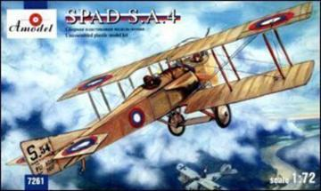 SPAD S.A.4 French WWI fighter · AM 7261 ·  A-Model · 1:72