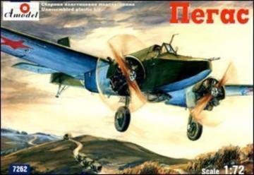 Pegas Soviet light bomber & strike airc. · AM 7262 ·  A-Model · 1:72