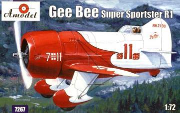 Gee Bee Super Sportster R1 Aircraft · AM 7267 ·  A-Model · 1:72
