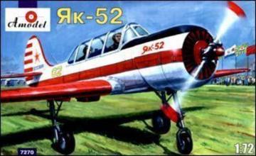 Yakovlev Yak-52 Soviet two-seat sporting · AM 7270 ·  A-Model · 1:72