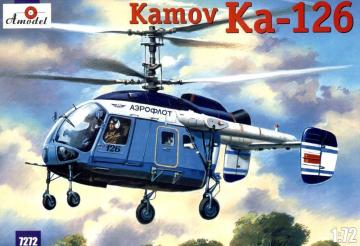 Kamov Ka-126 Soviet light helicopter · AM 7272 ·  A-Model · 1:72