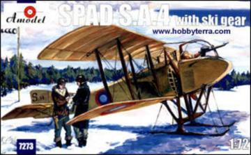 SPAD S.A.4 with ski gear · AM 7273 ·  A-Model · 1:72