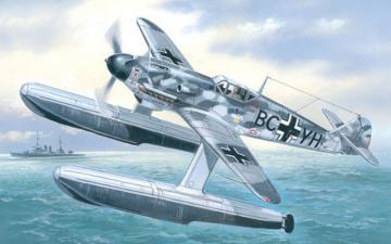Messerschmitt Bf 109 W Ger. WWII fighter · AM 7275 ·  A-Model · 1:72