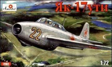 Yakovlev Yak-17UTI Soviet jet fighter · AM 7282 ·  A-Model · 1:72