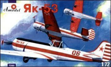 Yakovlev Yak-53 single-seat sporting ai. · AM 7285 ·  A-Model · 1:72