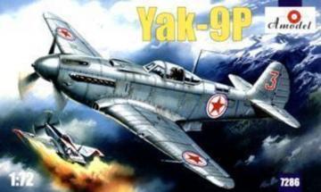 Yakovlev Yak-9P Soviet fighter · AM 7286 ·  A-Model · 1:72