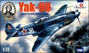 Yakovlev Yak-9U Soviet fighter · AM 7289 ·  A-Model · 1:72