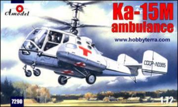 Kamov Ka-15M ambulance · AM 7290 ·  A-Model · 1:72