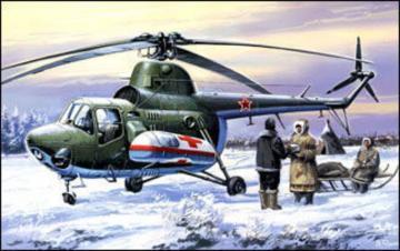 Mil Mi-3 ambulance · AM 7297 ·  A-Model · 1:72