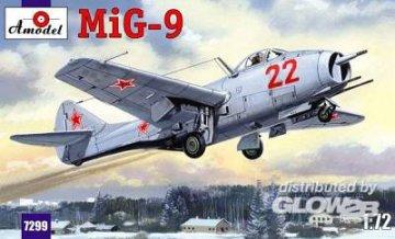 MiG-9 Soviet Fighter · AM 7299 ·  A-Model · 1:72