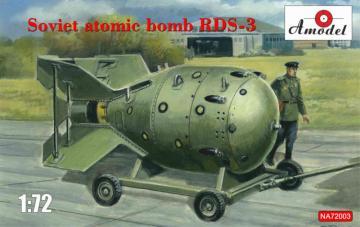 Soviet atomic bomb RDS-3 · AM NA72003 ·  A-Model · 1:72