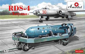 Soviet atomic bomb RDS-4 · AM NA72004 ·  A-Model · 1:72