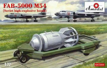 FAB-5000 M54 (Soviet high-explosive bomb) · AM NA72005 ·  A-Model · 1:72