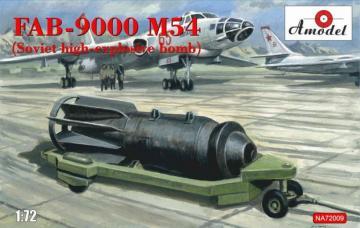 FAB-9000 M54 (Soviet high-explosive bomb) · AM NA72009 ·  A-Model · 1:72