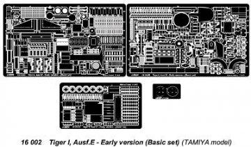 Tiger I, Ausf.E - Early version (Basic set) · AB 16002 ·  Aber · 1:16