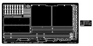 Front fenders for Tiger I, Ausf.E – (Early/Late version) · AB 16004 ·  Aber · 1:16