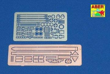 Germ. panzer troop`s accessories/ Deutsche Panzer Truppe, Details · AB 16011 ·  Aber · 1:16
