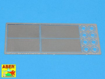 Feifel air cleaners tubes for early Tiger I  [Tamiya] · AB 16031 ·  Aber · 1:16