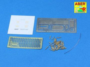 .50 cal. Ammunition with M2A1 box set for U.S. M2 Machine Gun · AB 16047 ·  Aber · 1:16