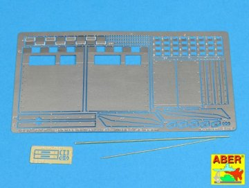 Rear fenders for Tiger I  Ausf.E – (Late version) [Tamiya] · AB 16051 ·  Aber · 1:16