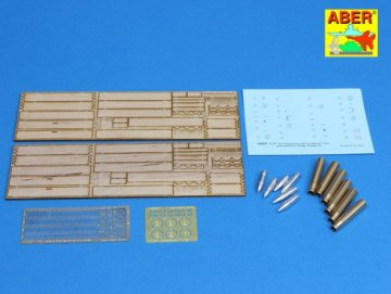 Two transport box with six different 7,5cm ammo for PzKpfw. IV, Ausf, H-J · AB 16057 ·  Aber · 1:16