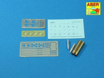 Pz.Kpfw. IV. Ausf.H Vol.16B - Ammo stowage rack type B for long rounds · AB 16075B ·  Aber · 1:16